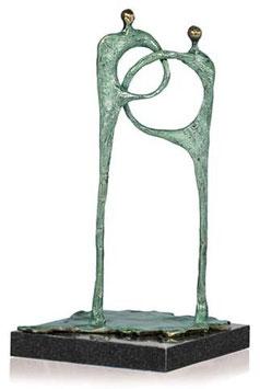 """Skulptur """"Bindeglied im Team"""""""