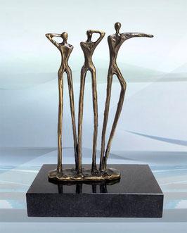 "Skulptur ""Bahnbrechende Visionen"""