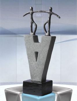 """Skulptur """"Ein neuer Anfang"""""""