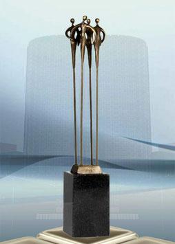 """Skulptur """"Höchste Qualität"""" - große Ausführung"""