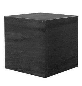 Granitsockel schwarz, hochglanzpoliert 40 x 40 x 40 cm
