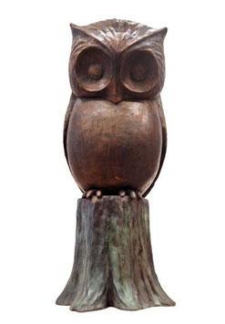 """Skulptur """"Der Uhu"""""""