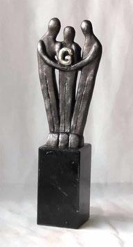 """Skulptur """"Gemeinschaftsgeist"""""""