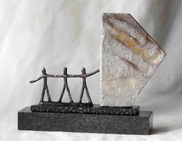 """Skulptur """"Ein gemeinsames Wertefundament schaffen"""""""