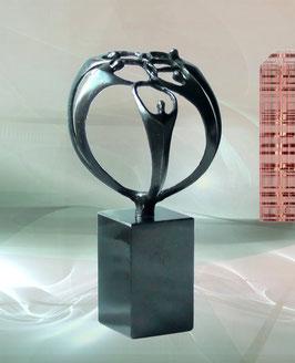 """Skulptur """"Der Zusammenhalt"""""""