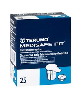 TERUMO Medisafe Fit Blutzuckertestspitzen - Teststreifen 25 St