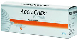 Accu-Chek FlexLink Kanülen 8mm +Adapter, 10 St
