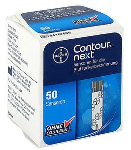 Contour Next Sensoren - Blutzuckerteststreifen - 50 St