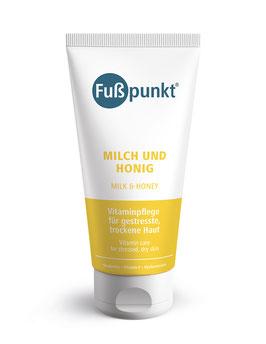 Fußpunkt Milch und Honig, 150 ml