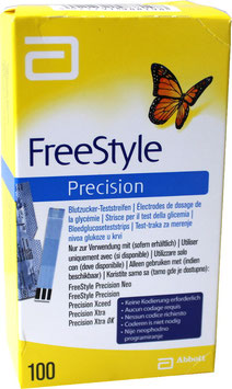 FreeStyle Precision - Blutzuckerteststreifen - 100 St
