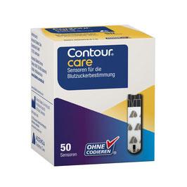 Contour© care Sensoren - Blutzuckerteststreifen 50 St.