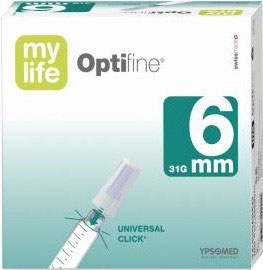 myLife Optifine 0,25x6 mm (31G) Pennadeln, 100 St