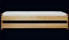 Set MAMBO in  Ahorn  -  2 Rahmen, 2 Klammern und Bolzen