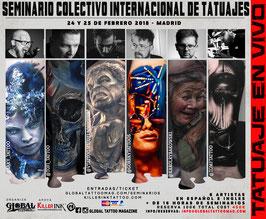 Seminario Colectivo Internacional de Tatuajes
