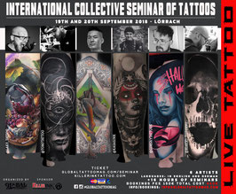 International Collective Seminar of Tattoos | Total Cost 450€