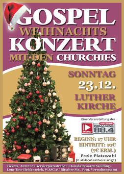 Gospel - Weihnachtskonzert