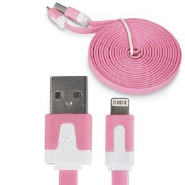 Langes iPhone Ladekabel - farbig, günstig und lang!