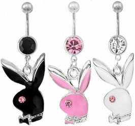 Playboy-Bunny Bauchnabelpiercing