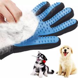 Handschuh für die Fellpflege
