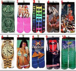 FUNNY Socken im stylischen Design