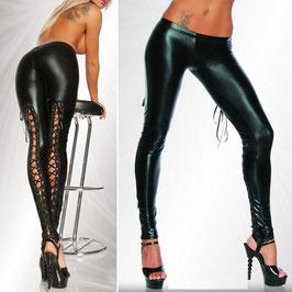 TREND Sexy Faux Leather Leggings - nimmt ihm garantiert den Atem