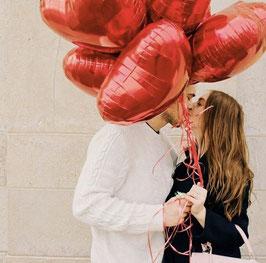 Ballon Valentinstag - Set