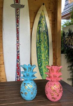Deko Ananas aus Holz