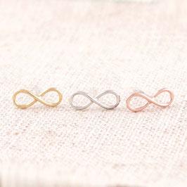 KLASSIKER Infinity-Design Ohrringe
