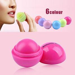 Lippenbalsam Kugel in 6 Geschmacksrichtungen