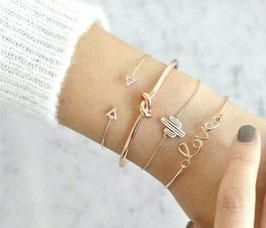Armband Mexiko 4-teilig