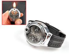 Armbanduhr mit integriertem Feuerzeug