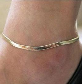 Essential Style: Gold-Fusskettchen