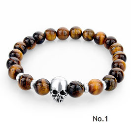 KLASSIKER Skull-Armband für den morbiden Geschmack