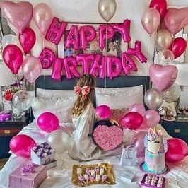 Ballon Happy Birthday - Set