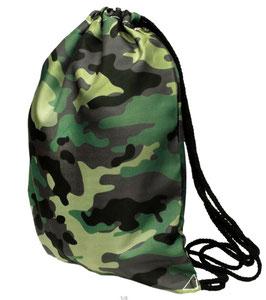Umhängetasche im Army-Look