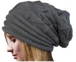 Knitterkappe mit Muster