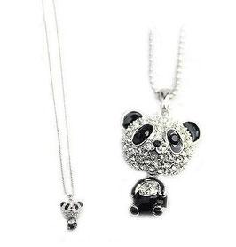 Grosskopf-Panda inklusive Halskette