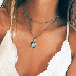Halskette Boho