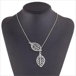 TREND Filigrane Leaf-Halskette