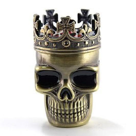Grinder im Royal Skull-Design