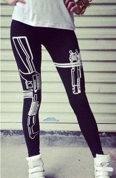 TREND Gun Leggings - schärfer als die Polizei erlaubt