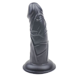 BLACK COLOR REALISTIC DILDO WITH SUCKER