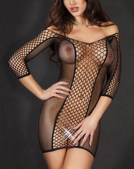 Sexy Fishnet Dress V1