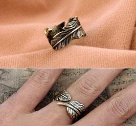 TREND Ring im Leaf-Design