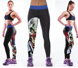 CLOWN-Druck Leggings