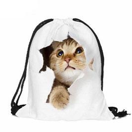 Umhängetasche im Cat-Look