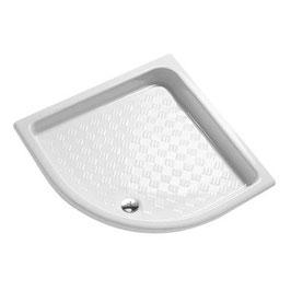 Plato ducha angular porcelana extraplano