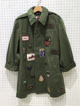 YuumiARIA PATCHWORK MILITARY  JACKET ④