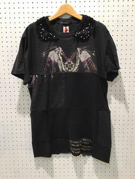 Yuumi ARIA パッチワークTシャツ ④