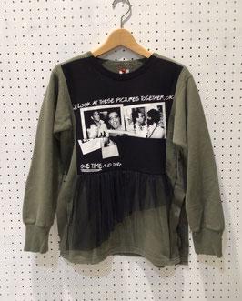 YuumiARIA MILITARY T-shirt SWEAT TOPS ②